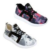 Wholesale Footwear Women's Lightweight Athletic Sneakers - Sizes 6-10