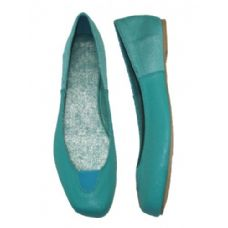 Wholesale Footwear Ladies' Square Toe w/ Elastic Ballerina