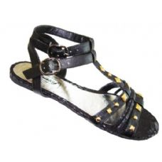 Wholesale Footwear Ladies' Studded Gladiator Size: 5-10