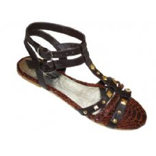 Wholesale Footwear Ladies' Studded Gladiator Size: 6-11