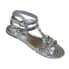 Wholesale Footwear Ladies' Studded Gladiator Size: 5-10