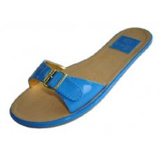 Wholesale Footwear Ladies Flat Sandal  Size: 6-11