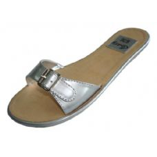 Wholesale Footwear Ladies Flat Sandal Size: 6-11