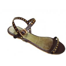 Wholesale Footwear Ladies' Open Strap Flat  Size: 6-11