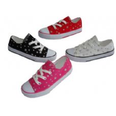 Wholesale Footwear Toddler Low-top Printed Canvas shoe