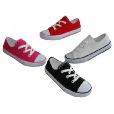 Wholesale Footwear Youth LoW-Top Lace Up Canvas