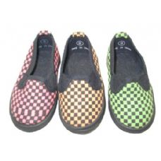 Wholesale Footwear Child Checkered Shoe