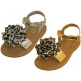Wholesale Footwear Infant's Metallic Sandals