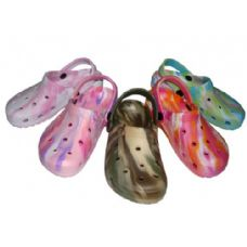 Wholesale Footwear Children's Tie-Dye Garden Clogs