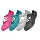 Wholesale Footwear Girls' CrisS-Cross Solid Color Shoes