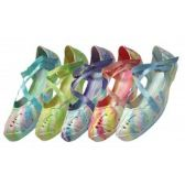 Wholesale Footwear Women's Tie-Dye Criss-Cross Shoe