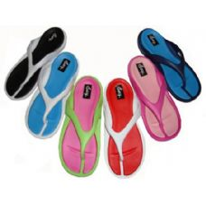 fa2144ba585335 Wholesale Footwear Women s Flip Flops - Anchor Prints - at ...