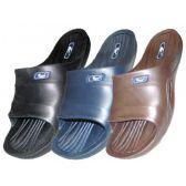Wholesale Footwear Boy's Rubber Sport Shower Slides
