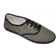 Wholesale Footwear Lady Canvas Stripe CVO