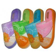 Wholesale Footwear Ladies' Flower Pattern Slipper