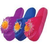 Wholesale Footwear Women's Daisy Plush Slippers