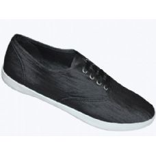 Wholesale Footwear Ladies' Chambray Lace Up Size 7-12