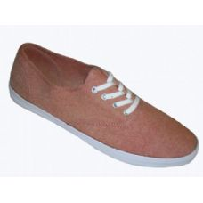 Wholesale Footwear Ladies' Chambray Lace Up 6-11