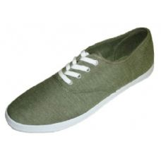 Wholesale Footwear Ladies' Chambray Lace Up 7-12