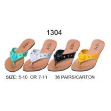 Wholesale Footwear Ladies Designer Flip Flop