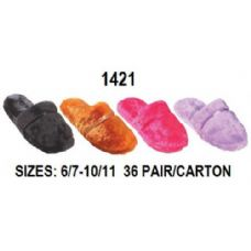 Wholesale Footwear Laddies Plush Slipper