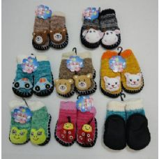 Wholesale Footwear Knit Booties With Characters