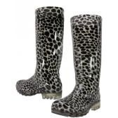 Wholesale Footwear Animal Print Rain Boot