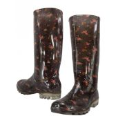 Wholesale Footwear Floral Print Rainboot