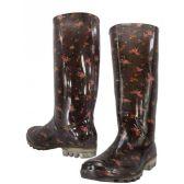 Wholesale Footwear Floral Print Rainboot