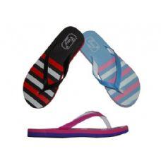 Wholesale Footwear Ladies Stripe Flip Flop