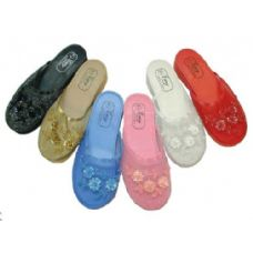 Wholesale Footwear Ladies Beaded House Slipper Size 5-10