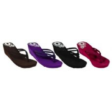 Wholesale Footwear Ladies Wedge Sandal