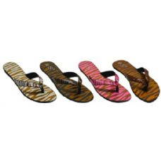 Wholesale Footwear Ladies Animal Print Sandal