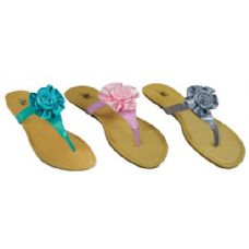 Wholesale Footwear Ladies T Design Floral Sandal