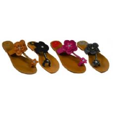 Wholesale Footwear Ladies Floral Sandal