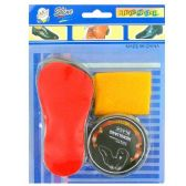Wholesale Footwear SHOE SHINE 3PC SHOE SHINE