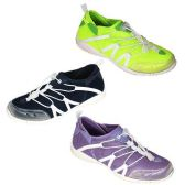 Wholesale Footwear WOMENS WATER SHOES SIZE 5-10 GREEN, BLCK, PRPLE