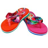Wholesale Footwear GIRLS THONG SANDALS SIZE 11-3 PINK, RED
