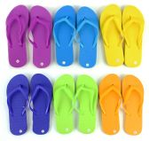Wholesale Footwear Women's Flip Flops - Solid Colors