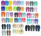 Wholesale Footwear Men's and Women's Flip Flop Assortment