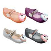 Wholesale Footwear Girls Unicorn Mary Jane Shoes In Silver