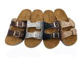 Wholesale Footwear Glitter Birkenstock Women Sandals In Rose Gold