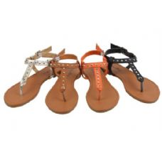 Wholesale Footwear Ladies' Fashion Sandals Size 6-11