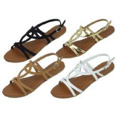 Wholesale Footwear Ladies Fashion Sandals Size 6-11